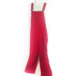 Garfield & Marks | red dress overalls